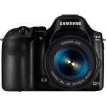 Samsung Mirrorless Camera, 20.3Mp, 18-55mm Lens, Black
