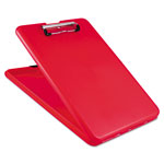 Saunders SlimMate Storage Clipboard, Red