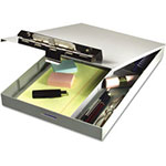 Saunders Recycled Aluminum Clipboard Top, Plastic Storage, 13 7/10 x 1 1/2 x 9""