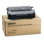 Savin Toner Cartridge for Fax Models 3651, 3687, 3705, 3740, 3740NF, Black