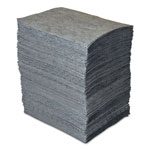 Spc GP MAXX Enhanced Sorbent Pads, .138gal, 15w x 19l, Gray, 200/Bundle