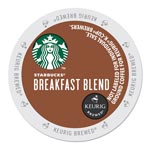 Starbucks Breakfast Blend K-Cups, 22/Box
