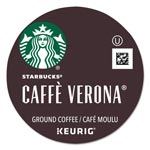 Starbucks Cafe Verona Coffee K-Cups Pack, 24/Box, 4 Box/Carton