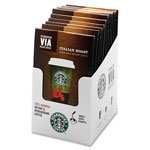Starbucks Ready Brew Italian Roast Coffee, 3.3 grams, 8/BX