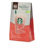Seattle's Best® VIA Refreshers, Strawberry Lemonade, 4.16 oz Pack, 6/Box