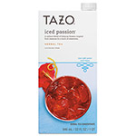 TAZO® Iced Tea Concentrate, Iced Passion, 32 oz Tetra Pak, 6/Carton
