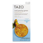 TAZO® Iced Tea Concentrate, Iced Peachy Green, 32 oz Tetra Pak