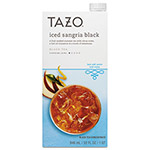 TAZO® Iced Tea Concentrate, Iced Sangria Black, 32 oz Tetra Pak, 6/Carton