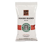 Starbucks Coffee, Regular House Blend, 2 1/2 oz Packet, 18/Box