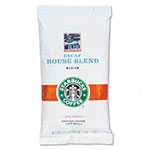 Starbucks Coffee, Decaffeinated House Blend, 2 1/2 oz Packet, 18/Box