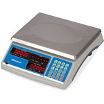 Salter Brecknell Digital Counting Scale, 60lb Capacity Tan