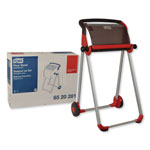 Tork Performance Floor Stand, 25.43 X 39.61 X 20.87, Red/Smoke