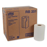 "Tork Universal RB351 Hardwound Paper Roll Towel, 1-Ply, 7.87"" Width x 350' Length, White"