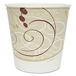 Solo Grease Resistant Double Wrapped Paper Bucket, 165 oz, White