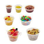 Solo Clear 2 Oz Plastic Souffle Cup , Case of 2,500