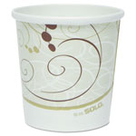 Solo Double Sided Paper Food Container, 16 OZ