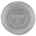 Solo Plastic Lid For 1.5/2 Ounce Cups, Clear