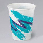 Browning 16 Oz Hot/Cold Paper Cups, Jazz Design, Pack of 1000