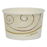 Solo Paper Food Container, 8 OZ