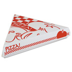 Southern Champion Lock-Corner Pizza Boxes, 9-1/4w x 9d x 1-11/16h, White
