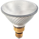 Satco Par38 Halogen Flood Bulb, 80W, 1600 Lumens, 15BX/CT, WE