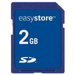 Sandisk EasyStore 2GB SD Card