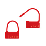 "Box Partners ""PP2"" Red Plastic Padlock Seals"