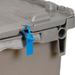 "Box Partners 5"" Gemini Tote Seal, Blue"