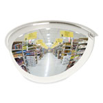 "See All Half Dome Convex Security Mirror, 18"" for Areas up to 150 Square Feet"