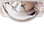 See All T-BAR Panaramic 360º Dome Security Mirror For Use In 2 x 2 Drop Ceilings