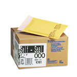 "Paper Jiffylite® Kraft Bubble Mailer with Self Seal Closure, 4""x8"", Case of 25"