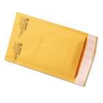Paper Jiffylite® Jiffylite Self-Seal Mailer, Side Seam, #00, 5 x 10, Golden Brown, 250/Carton