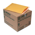 "Paper Jiffylite® Kraft Bubble Mailers, Self Seal Close, Bulk Pack, 12"" 1/2""x19"", Case of 50"