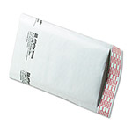 "Paper Jiffylite® Recycled White Bubble Mailer, #00, 5""x10, Case of 50"