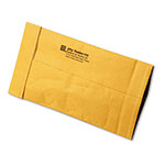 Sealed Air Jiffy Padded Mailer, Side Seam, #00, 5 x 10, Golden Brown, 250/Carton