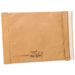 Sealed Air Jiffy Padded Self-Seal Mailer, Side Seam, #5, 10 1/2x16, Golden Brown,25/Carton