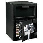 Sentry Depository Safe, .94 ft3, 14w x 15-3/5d x 20h, Black