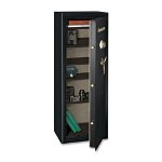 "Sentry Executive Safe, 3-Number Combo, 21"" x 17-3/4"" x 59-1/8"", Black"