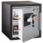 Sentry OA3821 1.2 Cu. Ft. Capacity Electronic Safe, Black/Gunmetal Gray