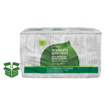 Seventh Generation 100% Recycled Single-Ply Luncheon Napkins, 11-1/2 x 12-1/2, White
