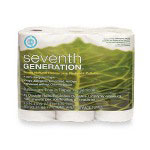 Seventh Generation Bulk Bathroom Tissue, 2-Ply, 400 Sheets, White