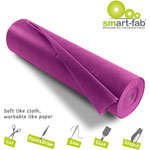 "Smart-Fab Fabric Rolls, 36"" x 600, Dark Purple"