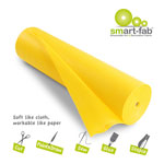 "Smart-Fab Fabric Rolls, 36"" x 600', Yellow"