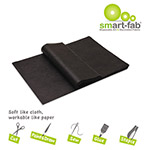 Smart-Fab Smart Fab Disposable Fabric, 9 x 12 Sheets, Black, 45 per pack