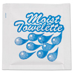 NatureHouse® Fresh Nap Moist Towelettes, 4 x 7, White, Lemon, 1000/Carton