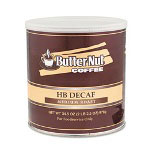 Sara Lee HB Decaf Coffee, Medium Roast, Decaffeinated, , 39 oz can
