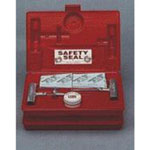 "Safety Seal Heavy Equipment Tire Repair Kit, with 18 16"" Inserts, Tool, Heavy Duty Spiral Probe, Lube, in Case"