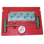 "Safety Seal Truck Tire Repair Kit, with 30 8"" Inserts, Insertion Tool, Spiral Probe, Lube, Extra Needle, in Case"