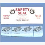 "Safety Seal Tire Repair Refills, 30 8"" Inserts, for Trucks, Agriculture and Industrial Vehicles"
