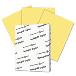 Springhill Digital Index Color Card Stock, 90 lb, 8 1/2 x 11, Buff, 250 Sheets/Pack